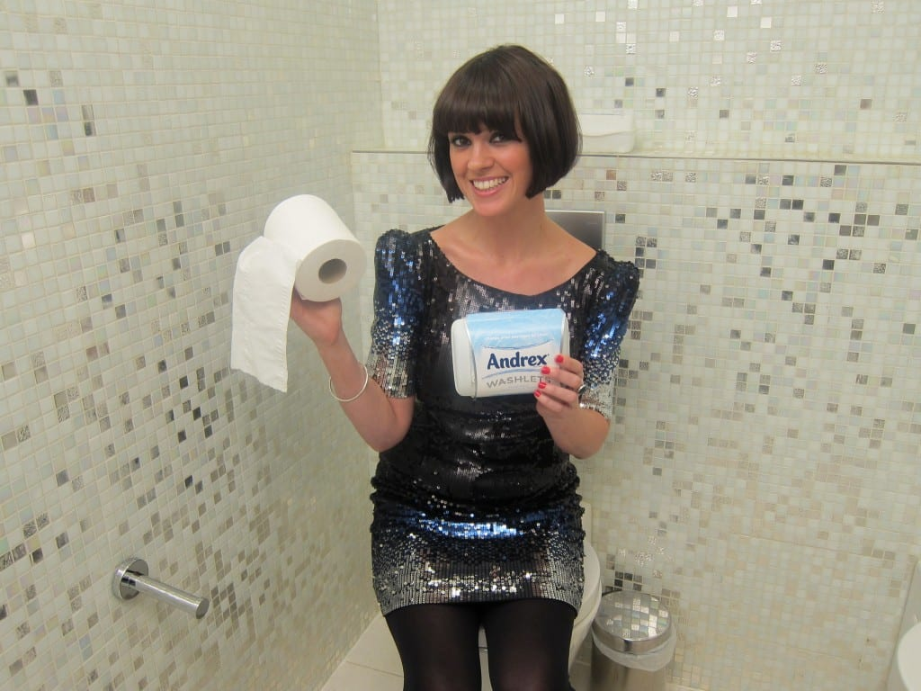 TV presenter Dawn Porter has taken Andrex Washlets around the UK campaigning to get the public to try wet toilet tissue as part of broadcaster Channel 4's 'The Clean Campaign'.