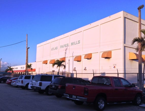 The company's Miami-based site processes 50,000tpy of tissue paper using recycled fibre