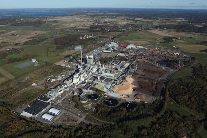 Major expansion: Södra Cell's Värö pulp mill in Sweden
