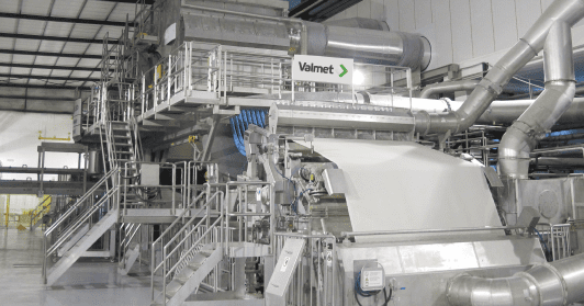Start-up of Faderco's new Valmet-supplied tissue line is planned for June 2015