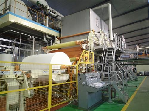 The second Intelli-Tissue® 1200 EcoEc tissue machine to be supplied to Hebei Xuesong Paper