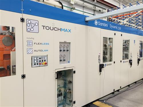 The company's TouchMax line will produce rolls with high hygienic and cosmetic properties