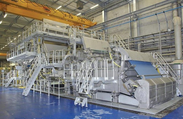MP Hygiene became fully integrated in 2012 with the start up of its first tissue machine
