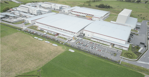 Above: Surrounded by rolling hills and countryside, the 60,000tpy produced at the site makes Productos Familia Colombia's number one consumer tissue producer.