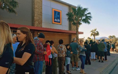 Aldi Grand Opening – Moreno Valley & Arcadia