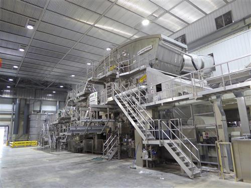 Von Drehle starts-up America's first NTT tissue line